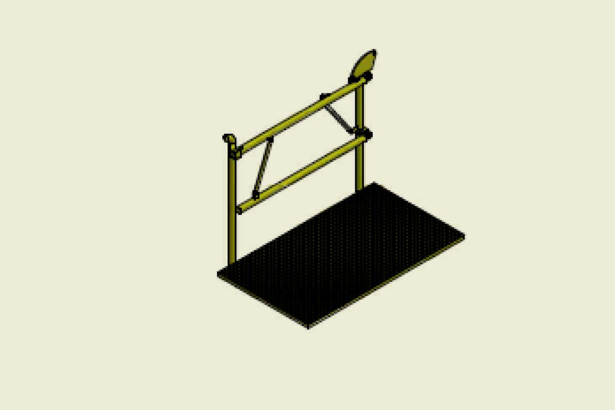 W+Z Stahlbau Klappschranke